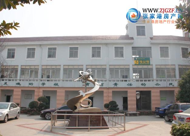 张家港第二中学实景照片